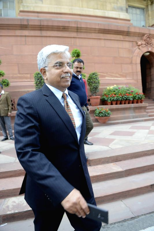 Delhi Police Commissioner B S Bassi at the Parliament in New Delhi, on March 16, 2015.