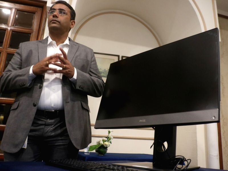 : New Delhi: Dell India Director and General Manager (Client Solutions Group) Indrajit Belgundi at the launch of Dell Optiplex Desktop, in New Delhi on June 14, 2018. (Photo: IANS).