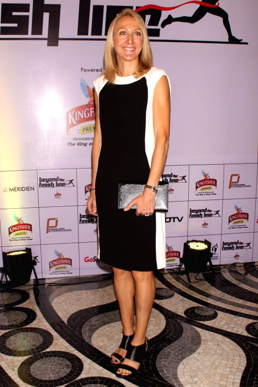 Event Ambassador of Airtel Delhi Half Marathon 2014 Paula Radcliffe  at an event  ``Beyond The Finish Line``, (an evening to celebrate the Joy of Sporting excellence with India`s unsung ...
