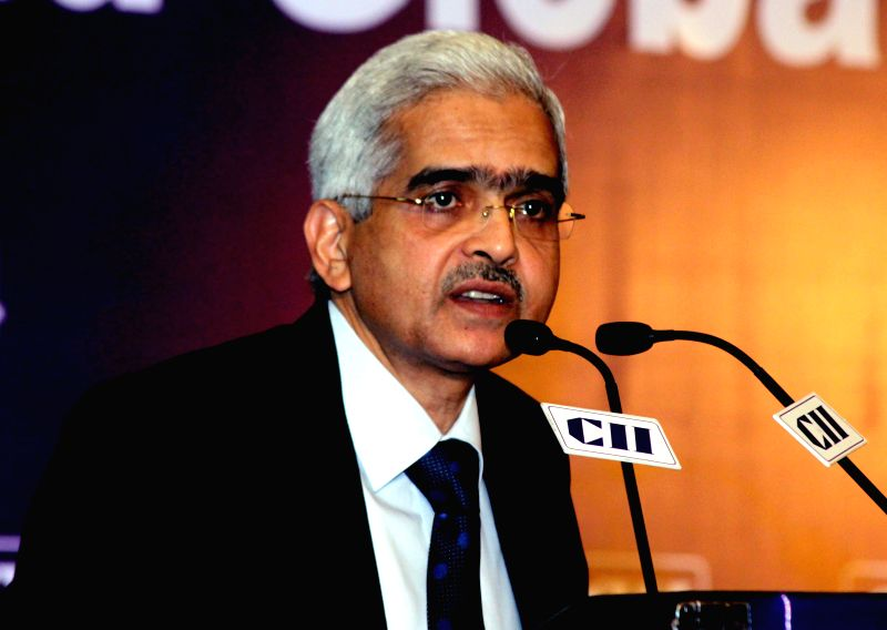 Joint Secretary (Budget) Ministry of Finance Shaktikanta Das addresses at the inaugural session of the 2nd Global Tax Summit organised by CII in New Delhi, on Dec 17, 2014.