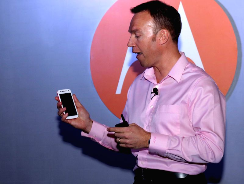 Motorola launches Moto E (Gen 2) in New Delhi, on March 10, 2015.