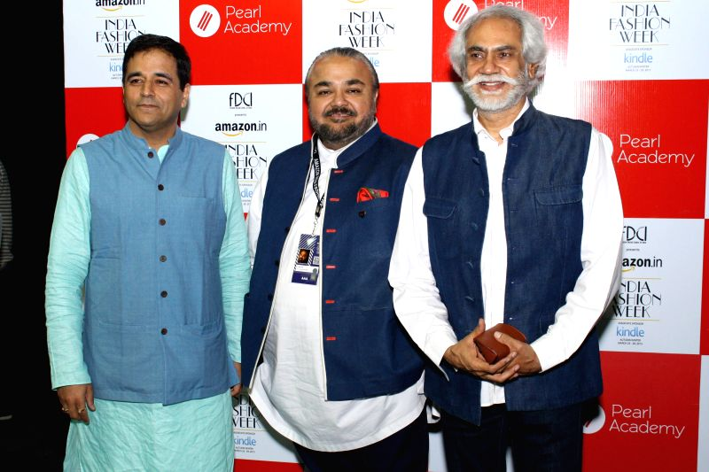 Mr. Sunil Sethi, President-Fashion Design Council of India (FDCI) and Fashion Designer  JJ Valaya launched  Pearl Academy  New Course in Fashion & Lifestyle E-Commerce and India ...