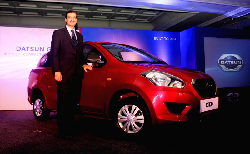 Nissan Motor India Pvt Ltd MD Arun Malhotra at the launch of Datsun Go+ in New Delhi, on Jan 16, 2015. - Arun Malhotra