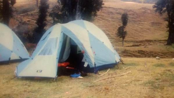 One of the pictures of Congress vice-president Rahul Gandhi released by Congress worker Jagdish Sharma on social networking site - Twitter, that shows him camping in the hills of ... - Jagdish Sharma