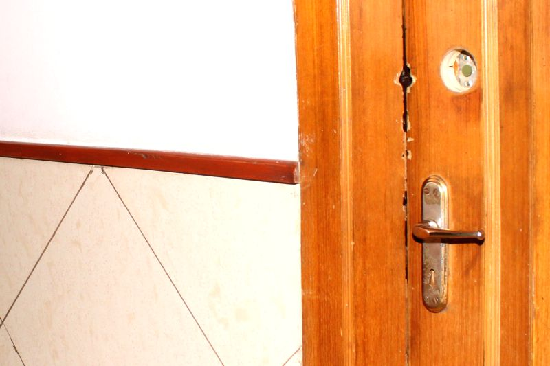 One of the rooms in the Petroleum Ministry at Shastri Bhawan where where the secret documents of the ministry were leaked,  in New Delhi, on Feb 20, 2015.