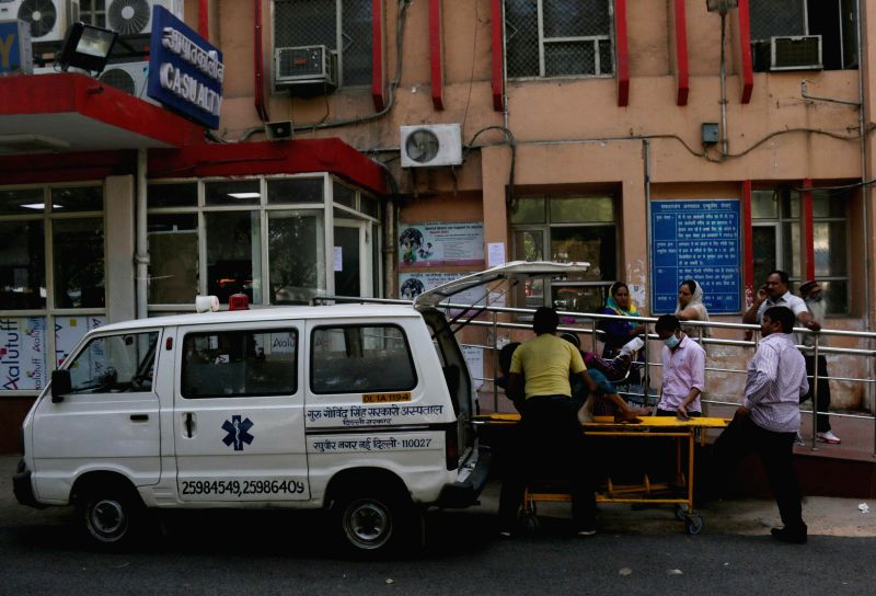 Patients stranded at Safdarjang Hospital as resident doctors of prominent central and state-run hospitals go on strike to press for their various demands  in New Delhi, on Feb 27, 2015.
