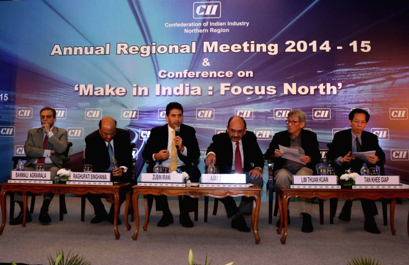 President and CEO for GE South Asia Banmali Agrawala , Managing Director of JK Tyre & Industries Limited Raghupati Singhania, Chairman of the CII Northern Region Zubin Irani, Chairman ... - Region Zubin Irani