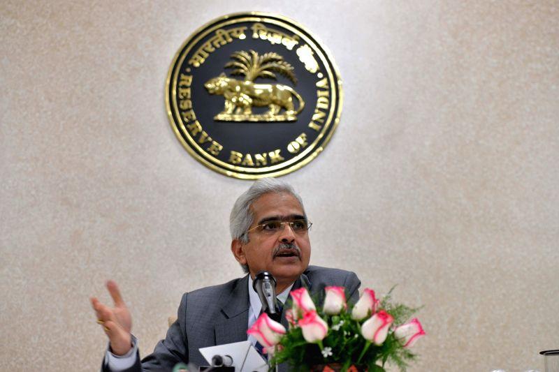 New Delhi: Reserve Bank of India (RBI) Governor Shaktikanta Das addresses a press conference in New Delhi, on Jan 7, 2019.