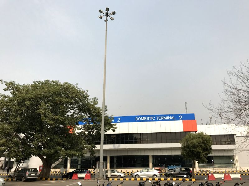 New Delhi: Terminal 2 of Indira Gandhi International Airport (IGI) that is set to be inaugurated on Sunday. (Photo: Rohit Vaid/IANS)