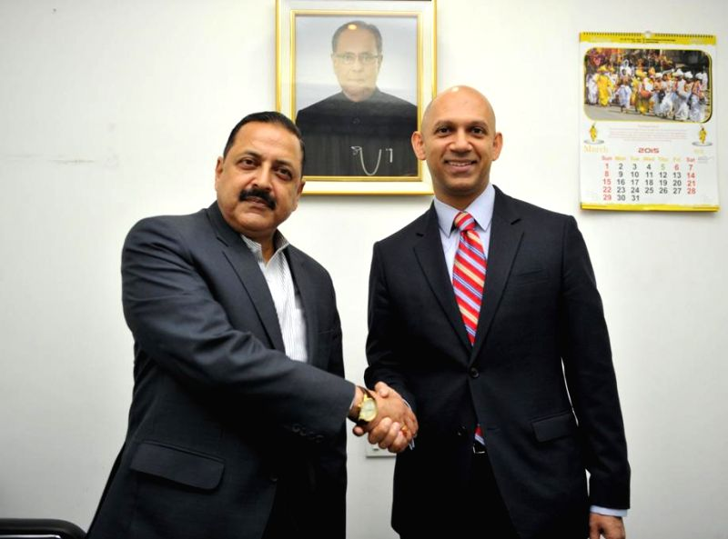 The Canadian High Commissioner in India Nadir Patel calls on the Union Minister of State for Development of North Eastern Region (I/C), Prime Minister's Office, Personnel, Public ... - Patel