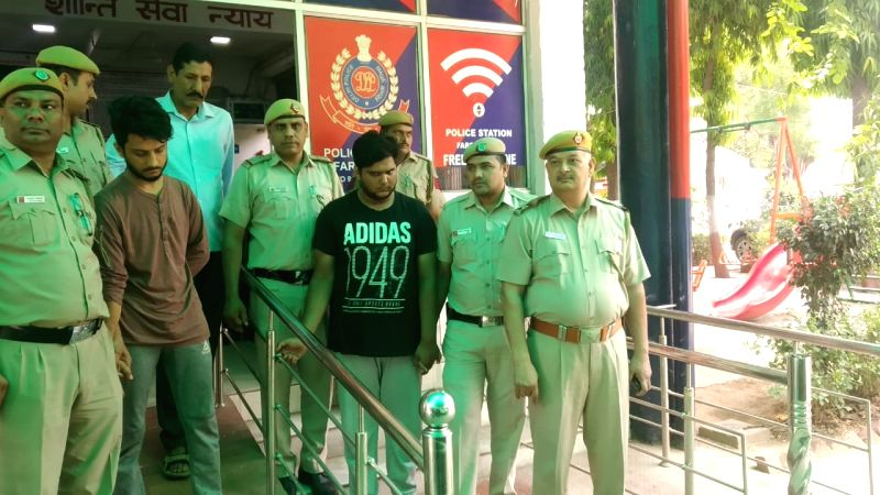 New Delhi: The Delhi Police have arrested two men in connection with the sensational killing of celebrity TikTok artiste and gym trainer Mohit More, in New Delhi on May 22, 2019. Mor, who had over 5,00,000 followers on TikTok and 3,000 followers on I