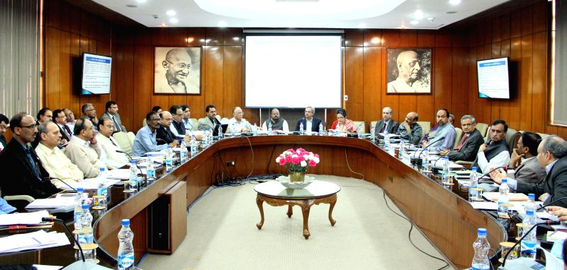 The Union Home Secretary L.C. Goyal and the Secretary Health and Family Welfare B.P. Sharma jointly convene a meeting with the representatives of States and UTs to review the treatment of ... - P. Sharma