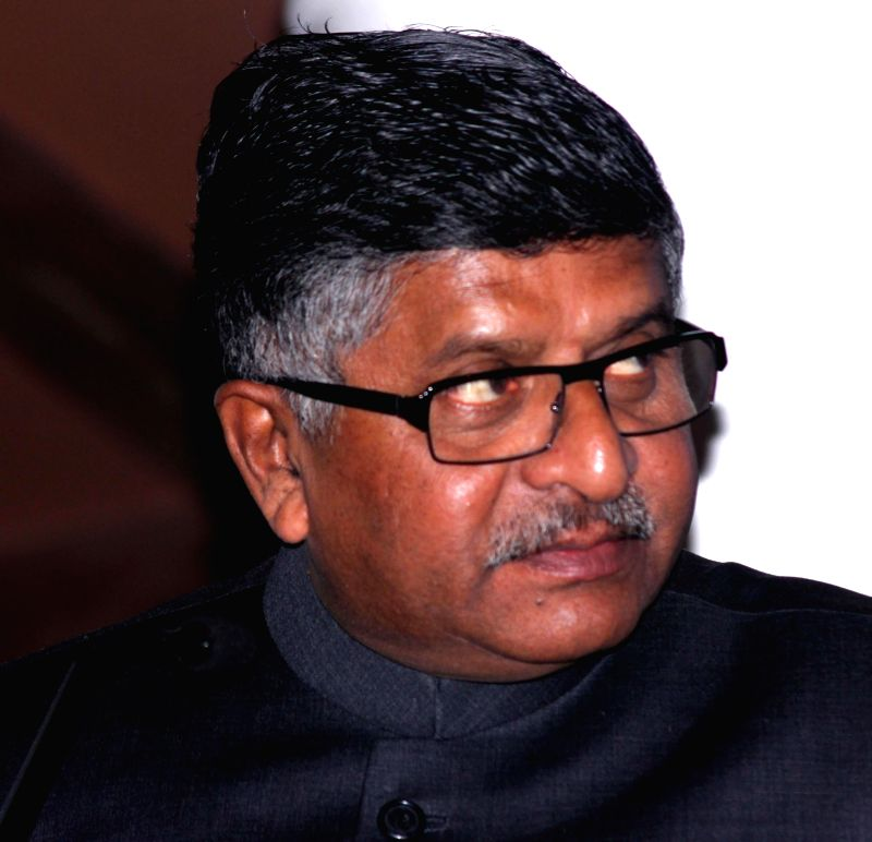 The Union Minister for Communications and Information Technology Ravi Shankar Prasad during the 2nd India-Japan Joint Working Group Meeting under India-Japan ICT Public-Private Partnership