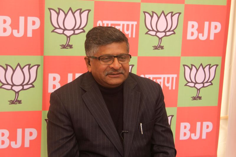The Union Minister for Communications and Information Technology and NJP leader Ravi Shankar Prasad talks about Jharkhand and Jammu and Kashmir assembly polls on Dec 23, 2014.