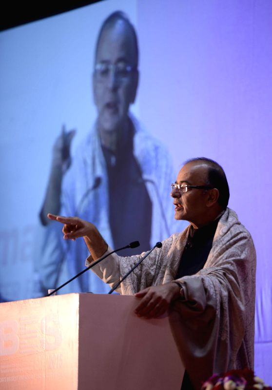 The Union Minister for Finance, Corporate Affairs and Information and Broadcasting Arun Jaitley addressed at the BES EXPO-2015- 21st International Conference and Exhibition on Terrestrial .