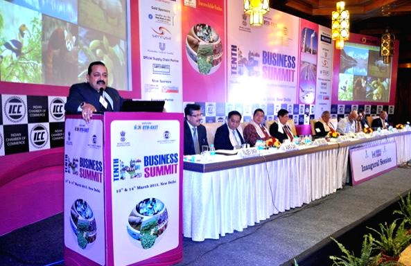 The Union Minister of State for Development of North Eastern Region (I/C), Prime Minister's Office, Personnel, Public Grievances & Pensions, Department of Atomic Energy, Department ... - Jitendra Singh