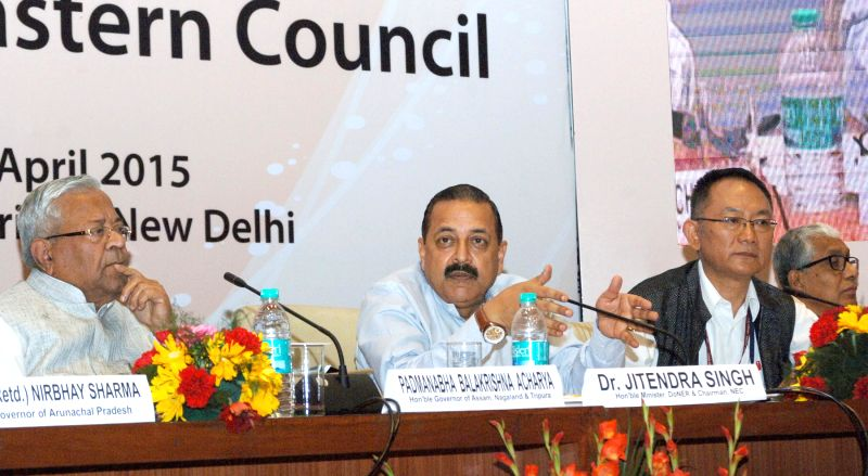 The Union Minister of State for Development of North Eastern Region (I/C), Prime Minister's Office, Personnel, Public Grievances and Pensions, Department of Atomic Energy, Department of ... - Jitendra Singh
