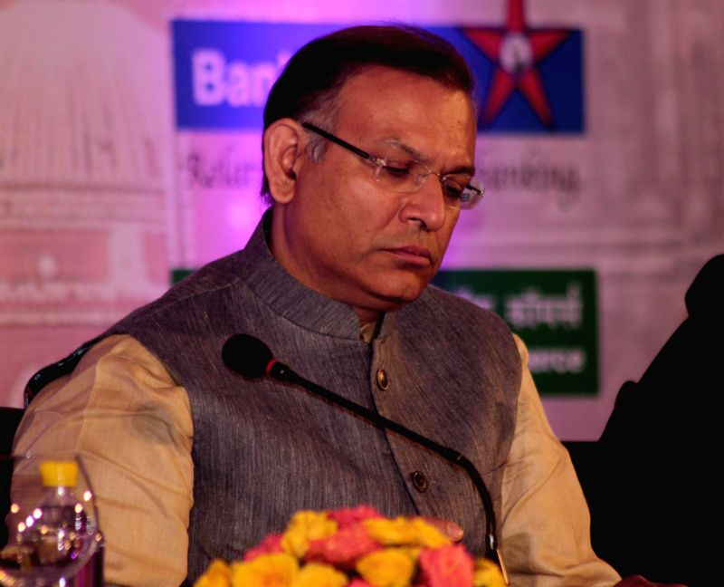 The Union Minister of State for Finance, Jayant Sinha at the inauguration of the two-day `Delhi Economics Conclave 2014`, in New Delhi on Dec 10, 2014. - Jayant Sinha