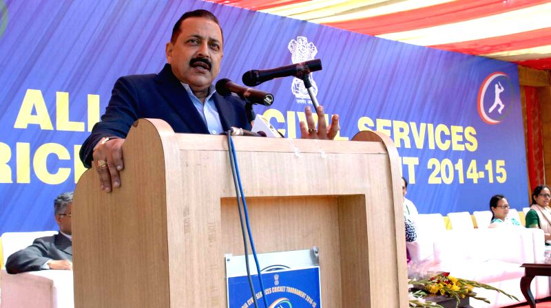 The Union MoS Minister of State for Development of North Eastern Region (I/C), Prime Minister's Office, Personnel, Public Grievances and Pensions, Department of Atomic Energy, Department ... - Jitendra Singh