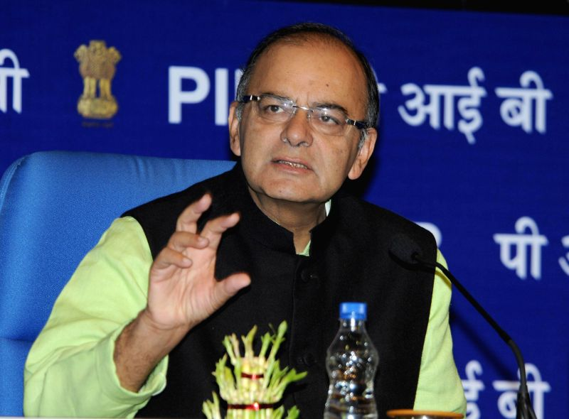 Union Minister for Finance, Corporate Affairs and Information & Broadcasting, Arun Jaitley addresses at the inaugural session of the workshop on Streamlining Government Communication, .