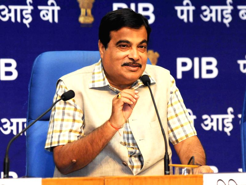 Union Minister for Road Transport and Highways, and Shipping Nitin Gadkari addresses at the launch of the `INAM – PRO, a Platform for Infrastructure and Materials Providers`, in New ...