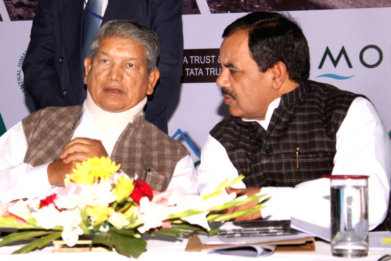 Uttarakhand Chief Minister Harish Rawat during `Meet of Mountain States`- a programme organised on the eve of International Mountain Day in New Delhi, on Dec 10, 2014. - Harish Rawat