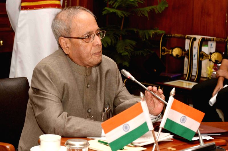 New DelhiPresident Pranab Mukherjee, receives 2018 edition of the QS World University Rankings brought out by the Education Promotion Society for India at Rashtrapati Bhavan on June 9, 2017. - Pranab Mukherjee