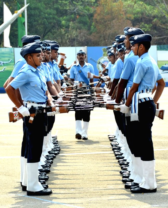 Air Force Station - passing out parade