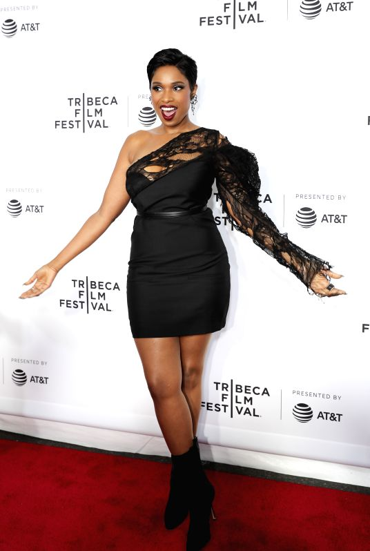 "NEW YORK, April 20, 2017 - Singer and actress Jennifer Hudson attends the opening night of the 2017 Tribeca Film Festival and the world premiere of ""Clive Davis: The Soundtrack of Our ... - Jennifer Hudson"