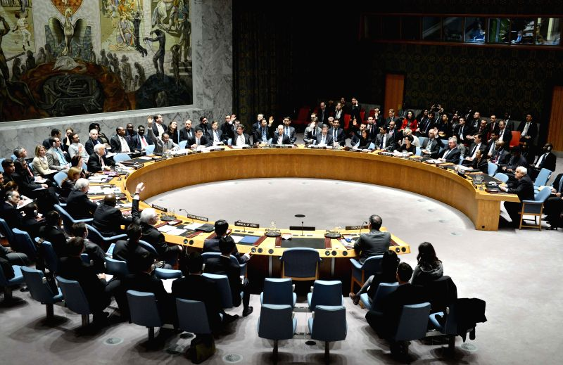 The United Nations Security Council votes on a Palestinian-drafted resolution at the UN headquarters in New York, on Dec. 30, 2014. The UN Security Council on ...