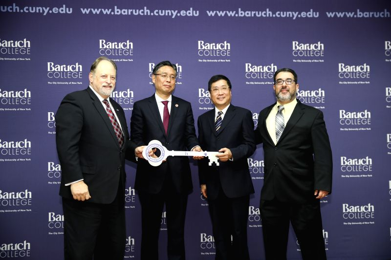 U.S.-NEW YORK-CONFUCIUS INSTITUTE-GLOBAL FINANCE