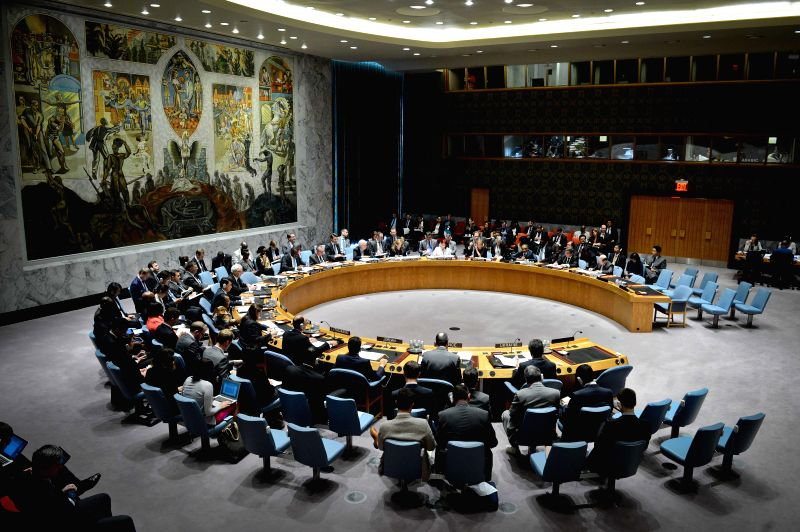 The United Nations Security Council holds an emergency meeting on the situation in Ukraine, at the UN headquarters in New York, on July 18, 2014. The UN Security ..