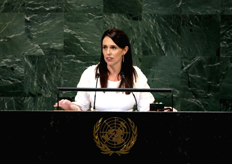 New Zealand Prime Minister Jacinda Ardern. (Xinhua/Qin Lang/IANS)(Image Source: IANS News)
