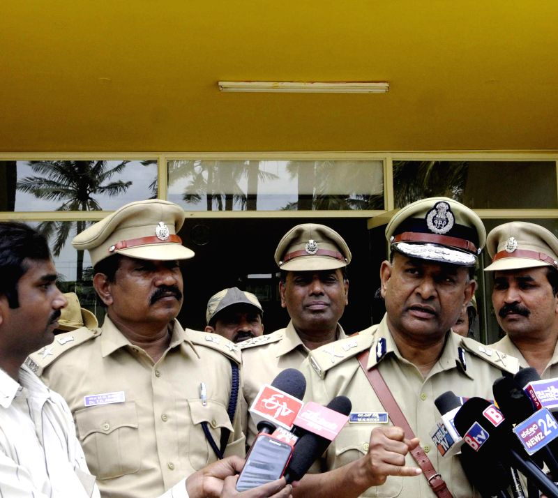 Newly appointed Bangalore Police Commissioner talks to media regarding rape case of a 6-year-old in Bangalore on July 22, 2014.