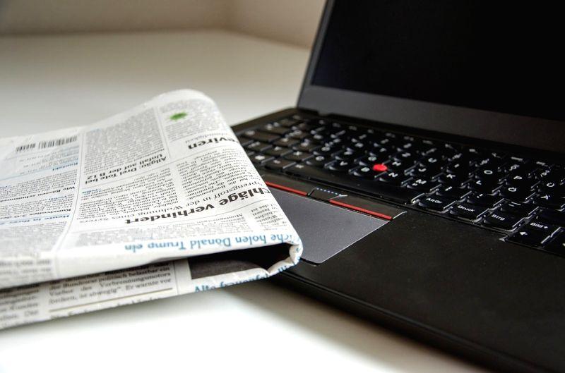 Newspaper. (File Photo: IANS)