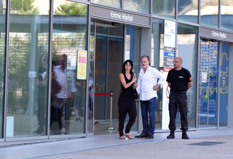 NICE, July 15, 2016 - People wait outside Pasteur Hospital in Nice, France on July 15, 2016. French Prosecutor of the Republic Francois Molins announced Friday in a press conference that 84 people, ...