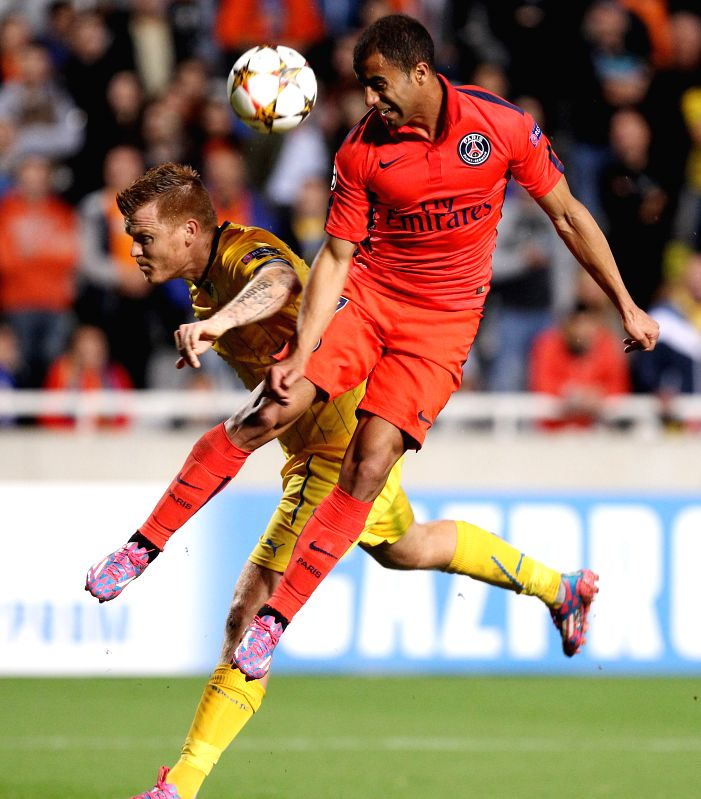 Lucas Moura Political Views: Champions League Group Soccer Match Paris Saint Germain Vs