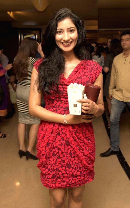 Niharca Raiszada during the premiere of film Love Exchange in Mumbai on Oct 28, 2015.