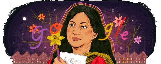 Nine years after her death, popular author and poetess Kamala Das alias Madhavikutty continues to be in the news. Google on Thursday dedicated a Doodle to celebrate her life and work.