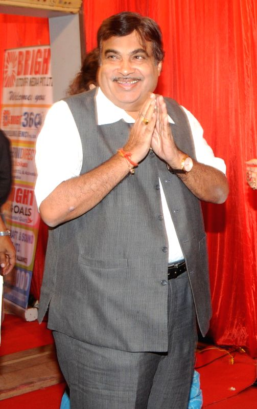 Nitin Ghadkari during the International Indian Achiever`s Award 2014 presented by YES BANK in Mumbai on July 28, 2014.