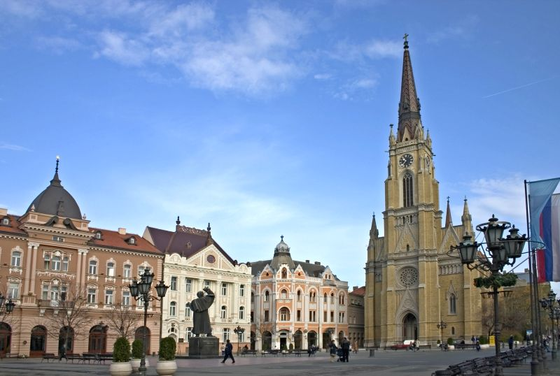 Novi Sad Liberty Square.