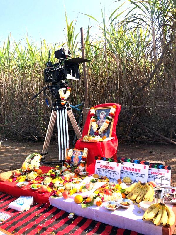 Nushrratt Bharruccha starts shooting for 'Chhorii' in Madhya Pradesh.