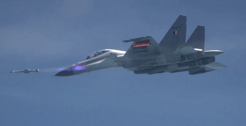 Air-to-Air missile Astra has been successfully flight tested off the coast of Odisha, on Sep 17, 2019.