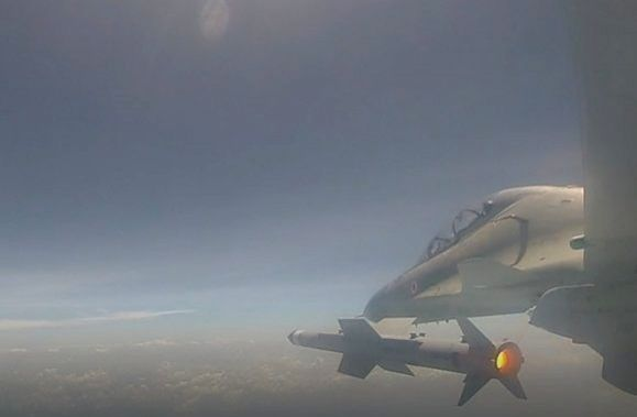 Odisha: Air-to-Air missile Astra has been successfully flight tested off the coast of Odisha, on Sep 17, 2019. The missile was launched today from Su-30 MKI as a part of User trials. The live aerial target was engaged accurately demonstrating the cap