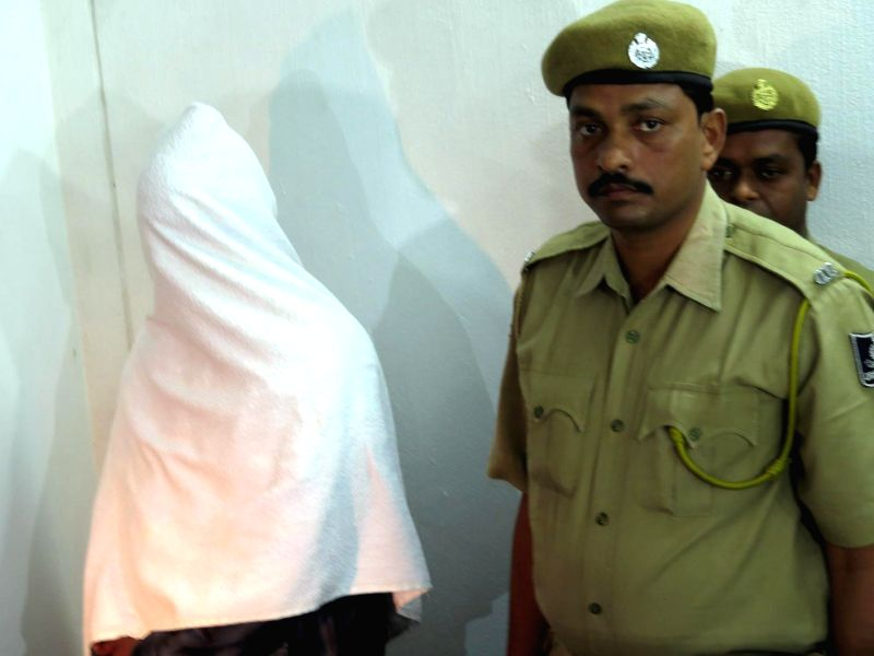 Odisha police arrest Iswar Chandra Behera, alleged ISI agent for spying while working at Chandipur integrated test range in Baleswar district of Odisha on Jan. 24, 2015.