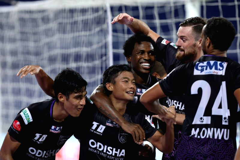 Odisha recorded only their second win of the Indian Super League (ISL) season on Saturday with a stunning 6-5 win over East Bengal -- a new record for most goals scored in a match -- at the GMC Stadium.