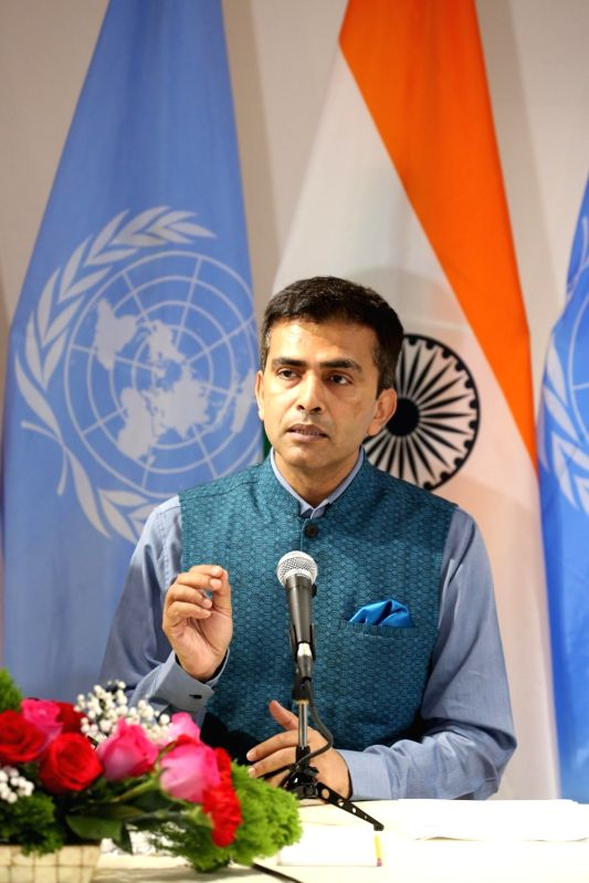 Official Spokesperson of Ministry of External Affairs Raveesh Kumar . (Image Source: IANS)