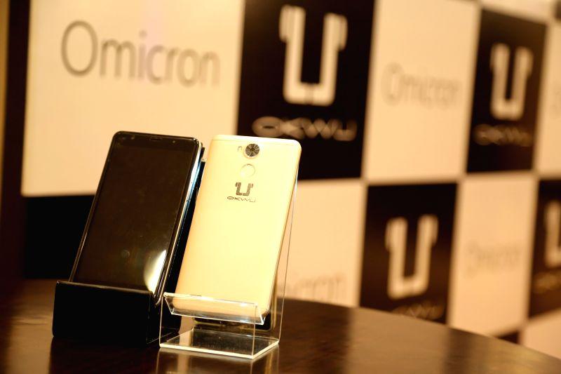 "Okwu's smartphone ""Omicron"". (File Photo: IANS)"