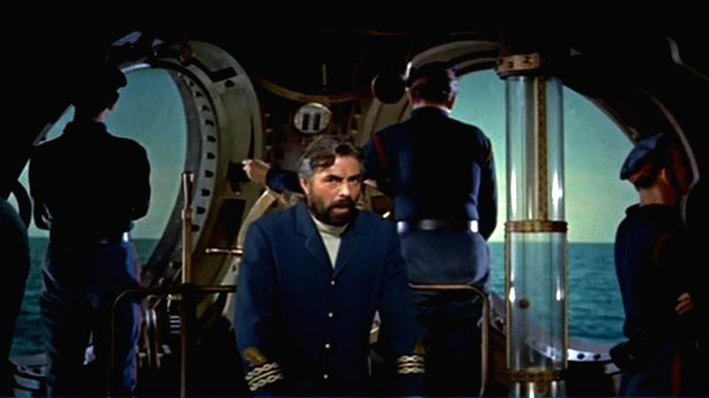 One of French author Jules Verne\'s most famous characters - Captain Nemo (portrayed by actor James Mason in a film adaptation) - Nemo