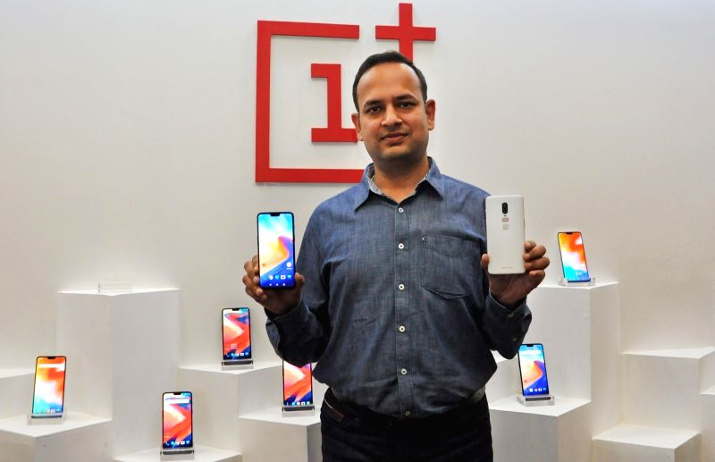 OnePlus India General Manager Vikas Agarwal during a press conference in Kolkata on Aug 2, 2018.